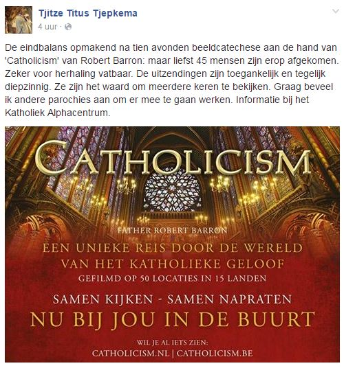 Catholicism Tjepkema